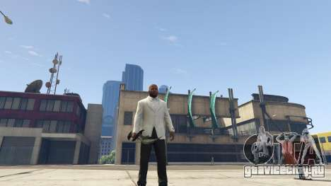 Daedric sword [Skyrim] для GTA 5 второй скриншот