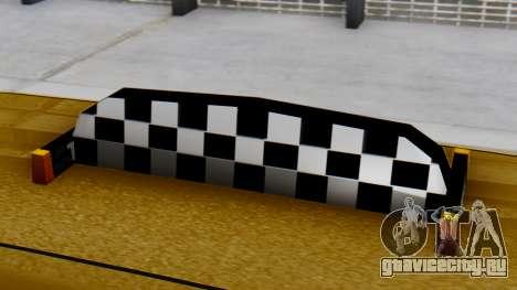 Vapid Landstalker Taxi SR 4 Style для GTA San Andreas вид справа