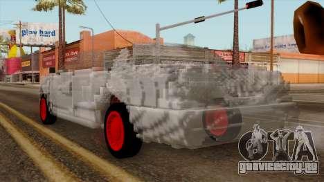 Kerdi Design Washington Crystals для GTA San Andreas вид слева