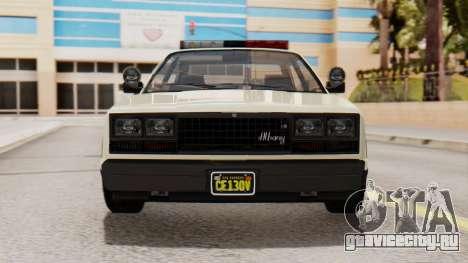 GTA 5 Albany Esperanto Police Roadcruiser IVF для GTA San Andreas вид сбоку
