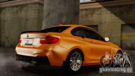 BMW M235i F22 Sport 2014 для GTA San Andreas вид слева