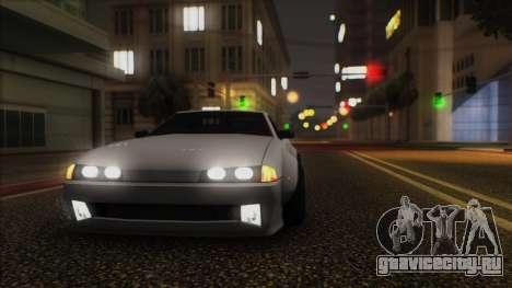 Elegy Rocket Bunny Edition для GTA San Andreas вид слева