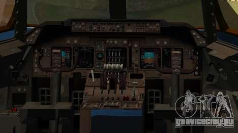 Boeing 747 E-4B для GTA San Andreas вид сзади