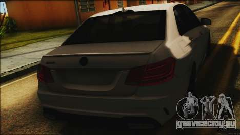 Mercedes-Benz E63 Brabus BUFG Edition для GTA San Andreas вид сзади