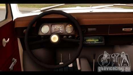ЗАЗ 968А для GTA San Andreas вид сзади слева
