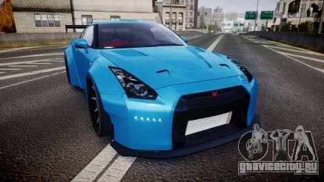 Nissan GT-R (R35) для GTA 4