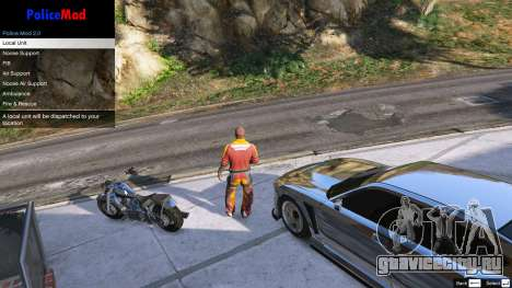 PoliceMod 2 2.0.2 для GTA 5 второй скриншот