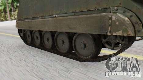 M113 from CoD BO2 для GTA San Andreas вид сзади слева