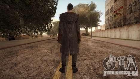 Dante from DMC для GTA San Andreas второй скриншот