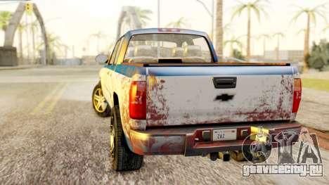 Chevrolet Silverado 2010 TLoU Edition для GTA San Andreas вид слева