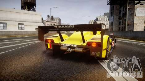 Radical SR8 RX 2011 [2] для GTA 4 вид сзади слева