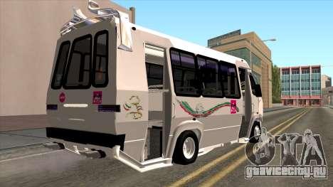 Ford Prisma IV Microbus для GTA San Andreas вид слева