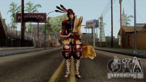 Sengoku Basara 3 - Maeda Keiji для GTA San Andreas второй скриншот