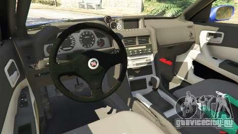 Nissan Skyline R34 GT-R 2002 v0.8 [Beta] для GTA 5