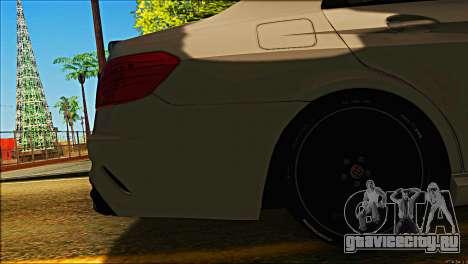 Mercedes-Benz E63 Brabus BUFG Edition для GTA San Andreas вид сбоку