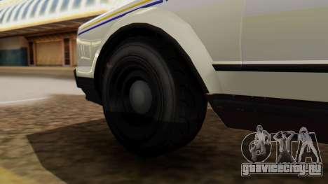 GTA 5 Albany Esperanto Police Roadcruiser для GTA San Andreas вид сзади слева
