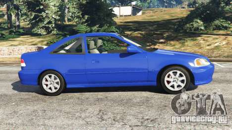 Honda Civic Si 1999 для GTA 5 вид слева