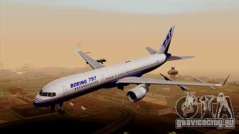 Boeing 757-200 (N757A) для GTA San Andreas