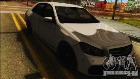 Mercedes-Benz E63 Brabus BUFG Edition для GTA San Andreas вид сзади слева