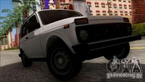 ВАЗ 2121 Нива BUFG Edition для GTA San Andreas вид изнутри