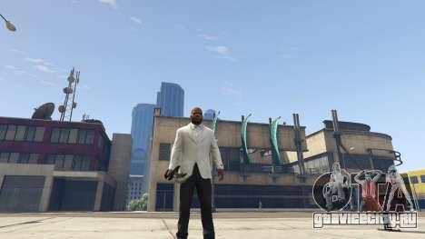 Daedric sword [Skyrim] для GTA 5 третий скриншот