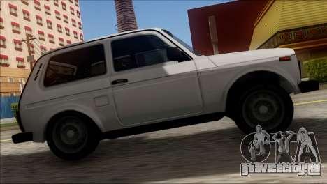 ВАЗ 2121 Нива BUFG Edition для GTA San Andreas вид сзади