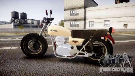 Honda CB-100 для GTA 4 вид слева