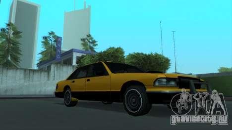 New Taxi для GTA San Andreas вид сверху