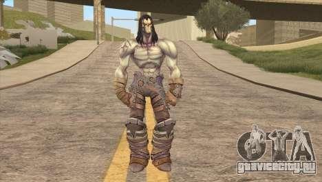 Death from Skyrim для GTA San Andreas второй скриншот