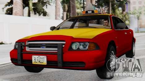 Dolton Broadwing Taxi для GTA San Andreas