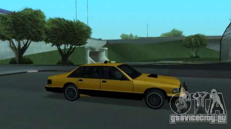 New Taxi для GTA San Andreas двигатель