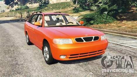 Daewoo Nubira I Wagon CDX US 1999 для GTA 5
