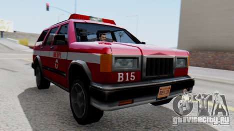FDSA Fire SUV для GTA San Andreas