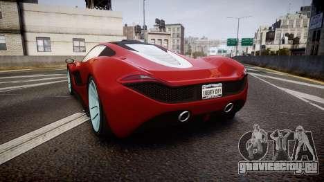 GTA V Progen T20 для GTA 4 вид сзади слева