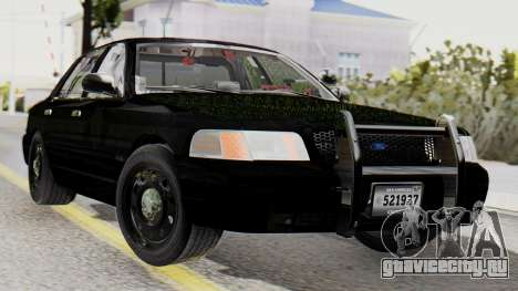 FBI Rancher 2013 для GTA San Andreas