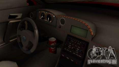 GTA 5 Annis Elegy RH8 IVF для GTA San Andreas вид справа