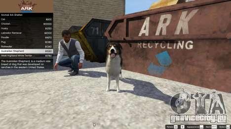 Animal Ark Shelter для GTA 5