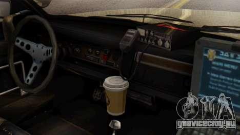 GTA 5 Albany Esperanto Police Roadcruiser IVF для GTA San Andreas вид справа