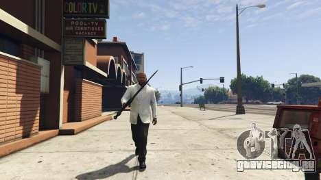 Daedric sword [Skyrim] для GTA 5 четвертый скриншот