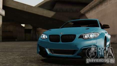 BMW M235i F22 Sport 2014 для GTA San Andreas колёса