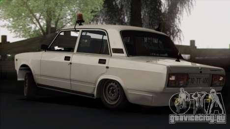 VAZ 2107 Avtosh Style для GTA San Andreas колёса