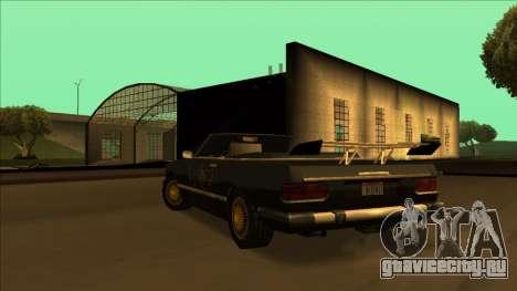 FreeShow Feltzer для GTA San Andreas салон