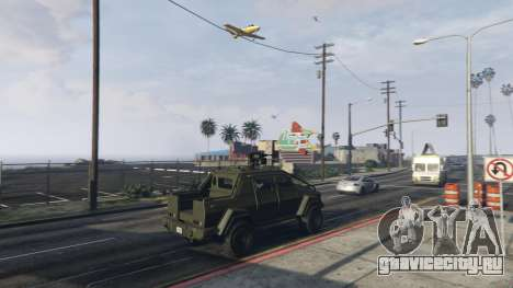Angry Planes для GTA 5 третий скриншот