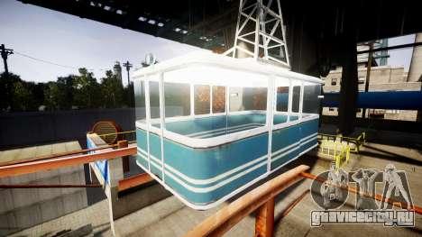 GTA V Cable Car для GTA 4
