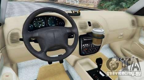Daewoo Nubira I Wagon CDX US 1999 для GTA 5 руль и приборная панель