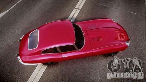 Jaguar E-type 1961 для GTA 4 вид справа
