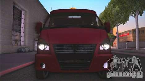 Газ 32213 для GTA San Andreas вид справа