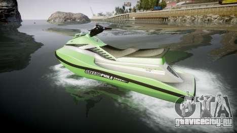 GTA V Speedophile Seashark для GTA 4 вид слева