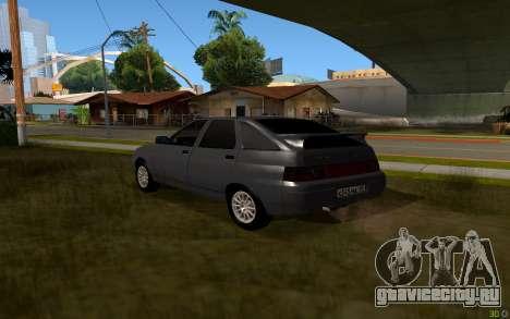 ВАЗ 2112 Липецк для GTA San Andreas вид слева