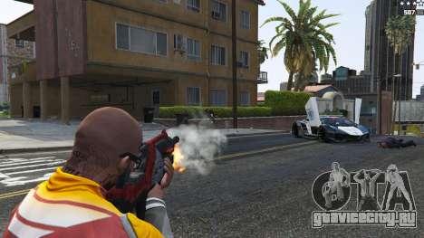 M-76 Revenant из Mass Effect 2 для GTA 5 восьмой скриншот